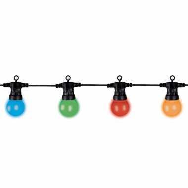 Buitenverlichting gekleurde bollampjes 20 stuks