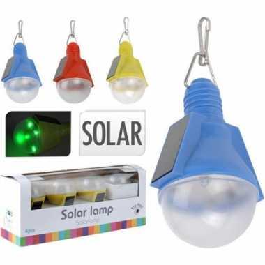 Gekleurde tuin solar lampjes