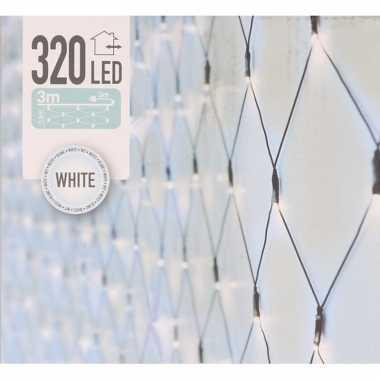 Kerstverlichting koel wit led netverlichting 100 x 200 cm buiten