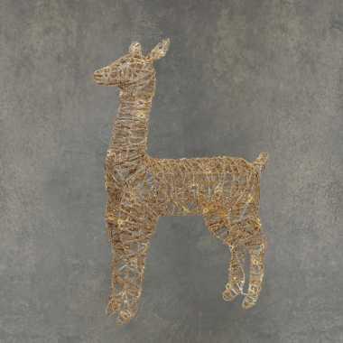 Kerstverlichting led figuren/dieren voor buiten rendier/hert 55 cm