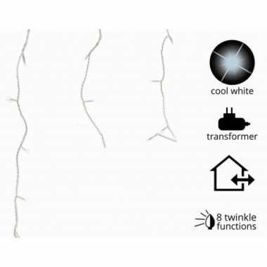 Led verlichting ijs koud wit knipper 490 lampjes