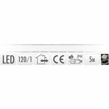 Lichtslang led strip helder wit buiten 5 meter