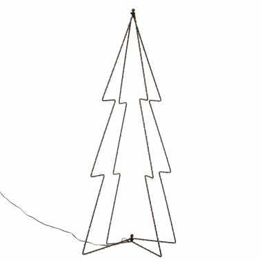 Verlichte figuren 3d kerstbomen / lichtbomen 72 cm voor buiten