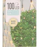 2x buxus kerstverlichting warm wit binnen buiten 90 x 90 cm