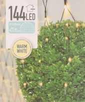 Buxus kerstverlichting lichtnet warm wit 120 x 120 cm