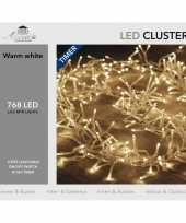 Clusterverlichting met timer 768 lampjes warm wit 4 5 m