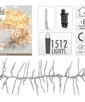 Clusterverlichting warm wit buiten 1512 lampjes 10105210