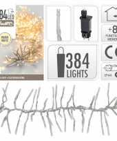 Clusterverlichting warm wit buiten 384 lampjes 10105204