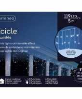 Ijspegel verlichting koel wit buiten 119 lampjes