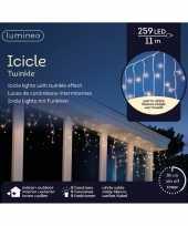 Ijspegel verlichting warm wit buiten 259 lampjes