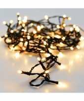 Kerst led verlichting op batterij 96 lampjes warm wit buiten 7 m