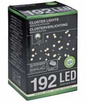 Kerstverlicht cluster warm wit 192 led