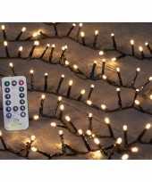 Kerstverlichting afstandsbediening warm wit buiten 500 lampjes