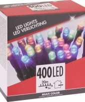 Kerstverlichting budget gekleurd buiten 400 lampjes