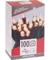 Kerstverlichting budget warm wit buiten 100 lampjes
