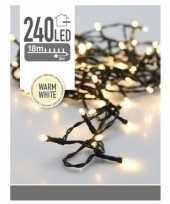 Led lichtsnoer van 21 meter wit 240 lampjes 10174298