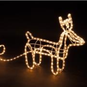 Kerstverlichting op batterij gekleurd buiten 50 lampjes